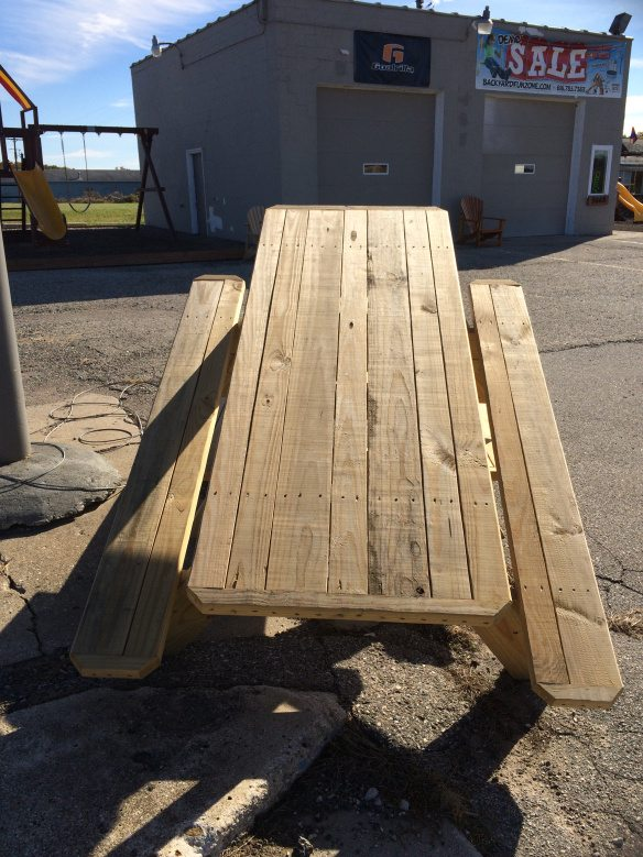 Hurry & Grab a Picnic Table or Bench at a Discount!