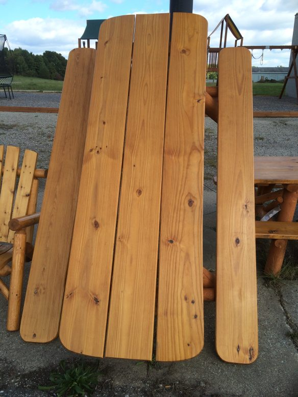 7′ Oval Varnished Blow Out Price $299 (Normally $405)