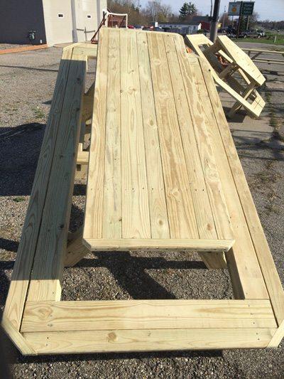 Surround Picnic Table