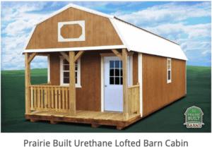 prairie built barn cabin